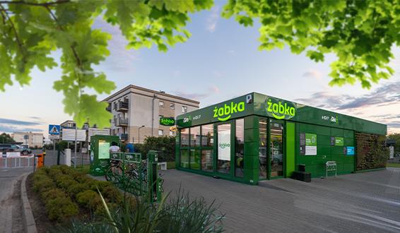 reference project for Zabka